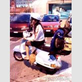 Nina Zilli: my Vespa and I